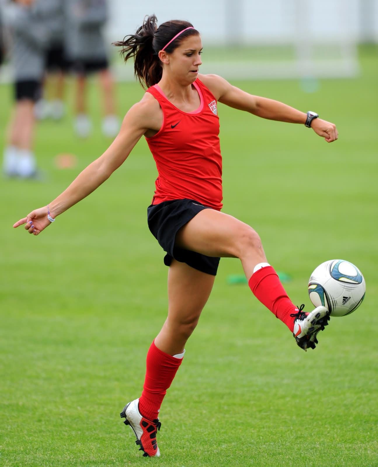 Alex Morgan Us Soccer  Hot Olympic Girls-2496