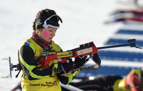 26.01.2013: BIATHLON -  IBU Youth and Junior World Championships - Junior Women 7.5 km Sprint