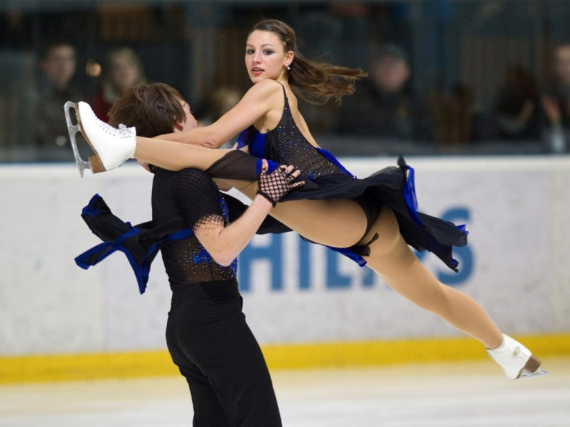 Are the olympic ice dancers hookup