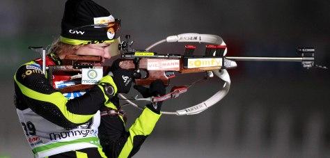 Biathlon : 7,5 Kms - Sprint - Coupe du Monde IBU - Dame - 06.01.2012 -