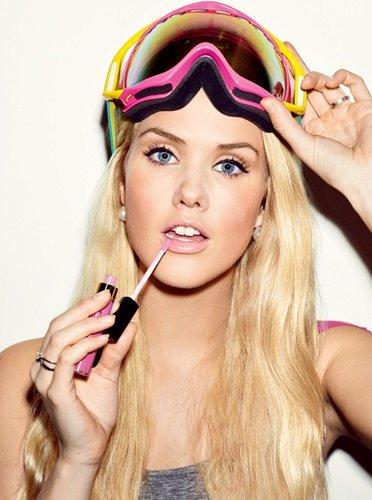 girls Hot snowboarding